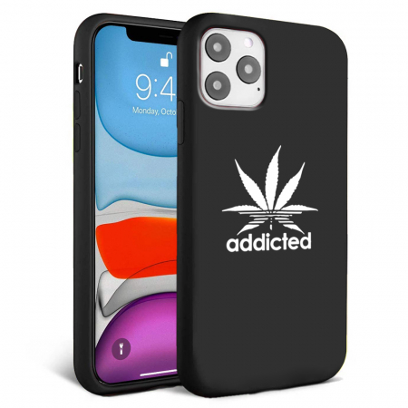 Husa iPhone 11 - Silicon Matte - Addicted [1]