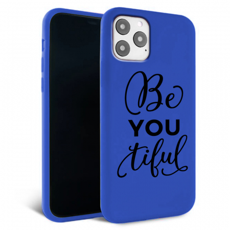 Husa iPhone 11 - Silicon Matte - Be you 1 [0]