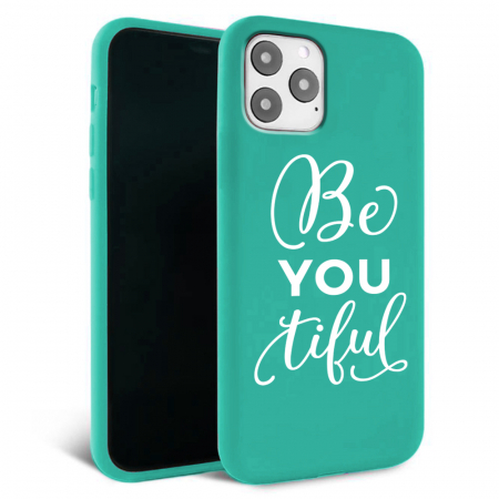 Husa iPhone 11 - Silicon Matte - Be you 2 [3]
