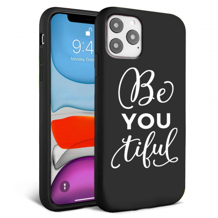 Husa iPhone 11 - Silicon Matte - Be you 2 [1]
