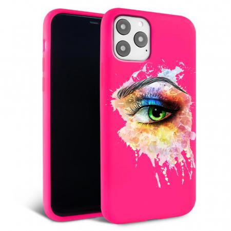 Husa iPhone 11 - Silicon Matte - Colored eye [4]