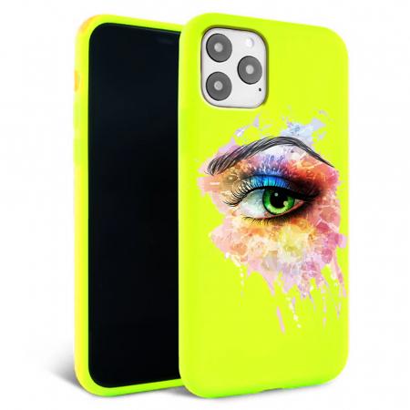 Husa iPhone 11 - Silicon Matte - Colored eye [3]