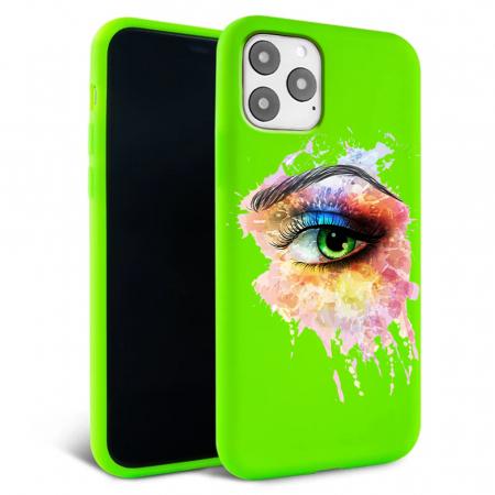 Husa iPhone 11 - Silicon Matte - Colored eye [6]