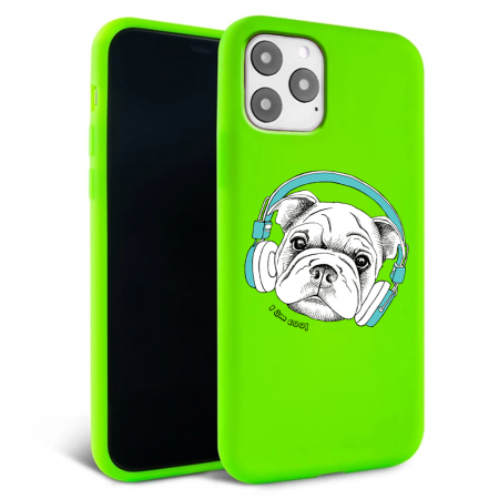 Husa iPhone 11 - Silicon Matte - Cool dog [6]