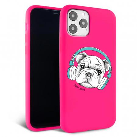 Husa iPhone 11 - Silicon Matte - Cool dog [3]