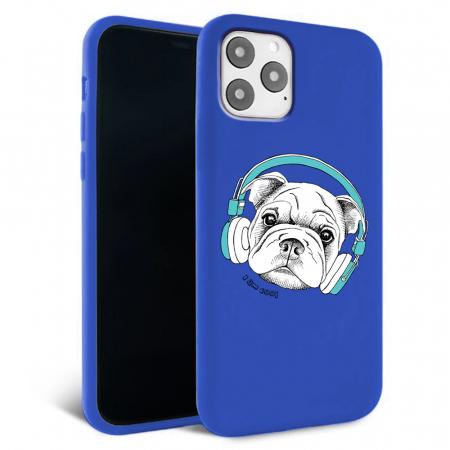 Husa iPhone 11 - Silicon Matte - Cool dog [5]