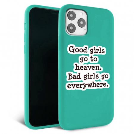 Husa iPhone 11 - Silicon Matte - Good Girls [3]