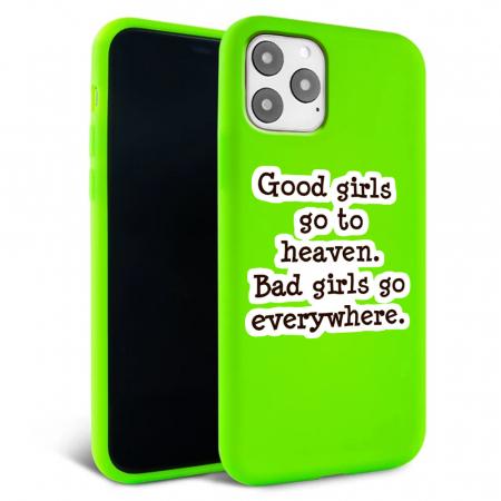 Husa iPhone 11 - Silicon Matte - Good Girls [1]