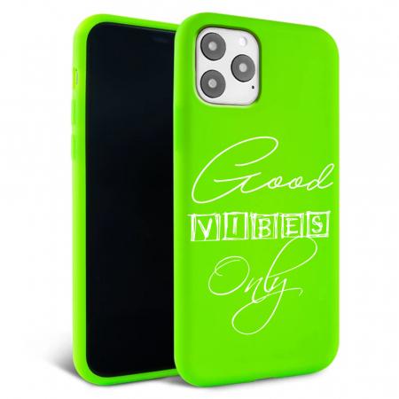 Husa iPhone 11 - Silicon Matte - Good vibes [6]
