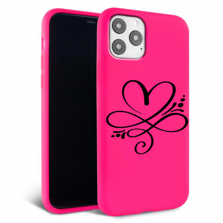 Husa iPhone 11 - Silicon Matte - Heart 1 [2]