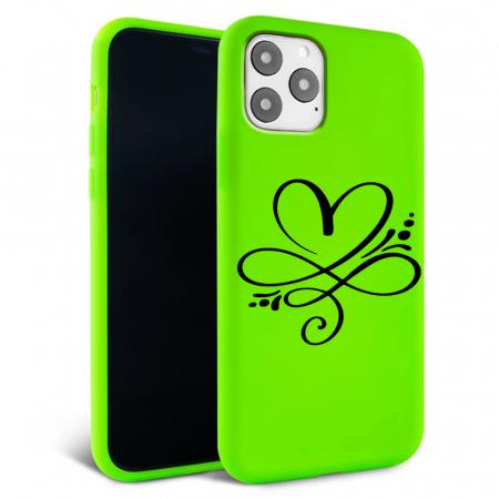 Husa iPhone 11 - Silicon Matte - Heart 1 [5]