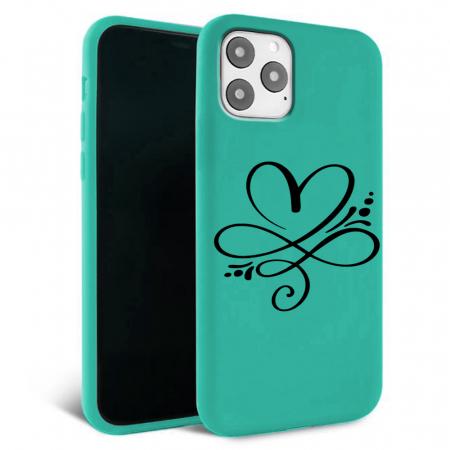 Husa iPhone 11 - Silicon Matte - Heart 1 [3]