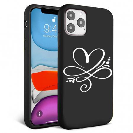 Husa iPhone 11 - Silicon Matte - Heart 2 [6]