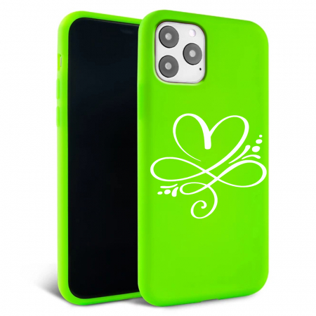 Husa iPhone 11 - Silicon Matte - Heart 2 [5]