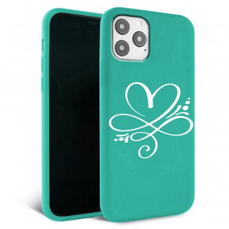 Husa iPhone 11 - Silicon Matte - Heart 2 [4]