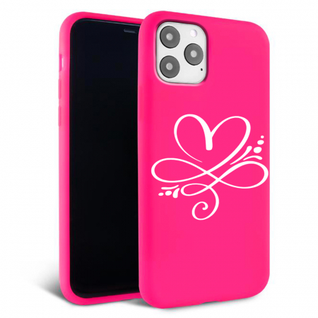 Husa iPhone 11 - Silicon Matte - Heart 2 [3]