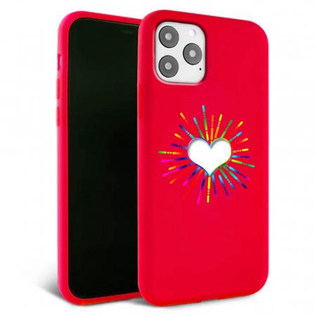Husa iPhone 11 - Silicon Matte - Heart 3 [6]