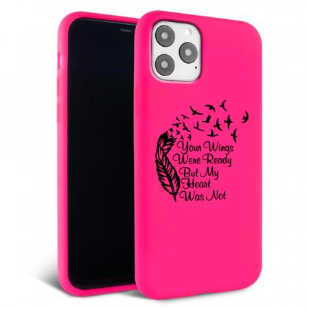 Husa iPhone 11 - Silicon Matte - Hearts 1 [3]