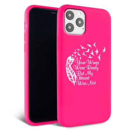 Husa iPhone 11 - Silicon Matte - Hearts 2 [4]