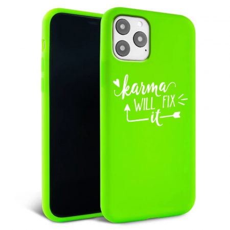 Husa iPhone 11 - Silicon Matte - Karma 1 [6]