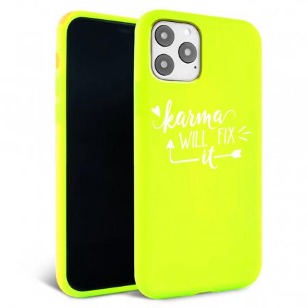Husa iPhone 11 - Silicon Matte - Karma 1 [3]