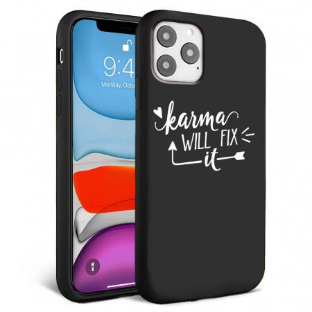 Husa iPhone 11 - Silicon Matte - Karma 1 [2]
