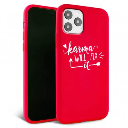 Husa iPhone 11 - Silicon Matte - Karma 1 [1]