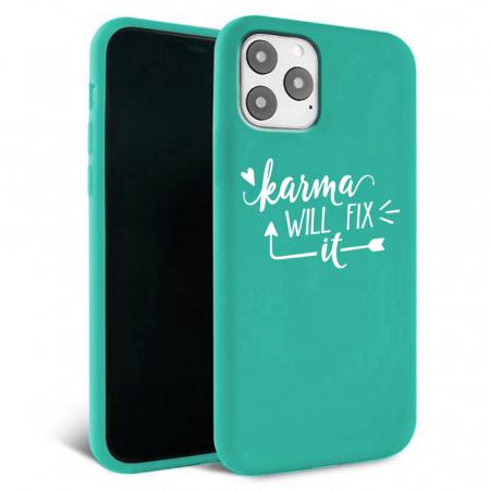 Husa iPhone 11 - Silicon Matte - Karma 1 [5]