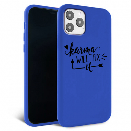 Husa iPhone 11 - Silicon Matte - Karma 2 [4]