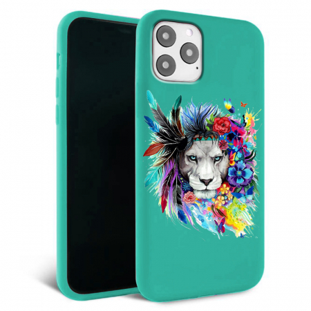 Husa iPhone 11 - Silicon Matte - Lion King [0]
