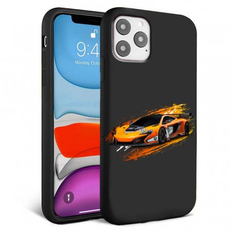 Husa iPhone 11 - Silicon Matte - Racing car [0]