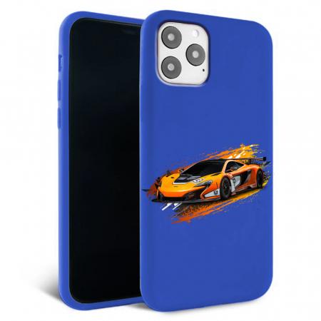 Husa iPhone 11 - Silicon Matte - Racing car [5]