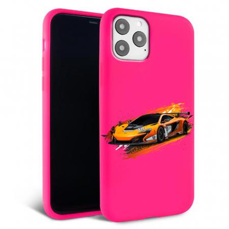 Husa iPhone 11 - Silicon Matte - Racing car [3]