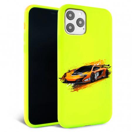 Husa iPhone 11 - Silicon Matte - Racing car [2]