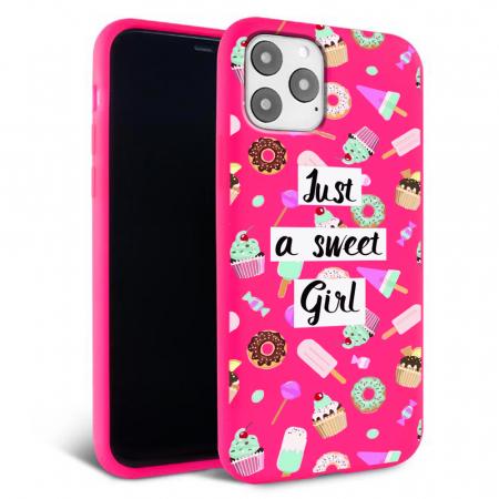 Husa iPhone 11 - Silicon Matte - Sweet girl [4]
