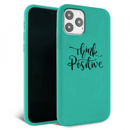 Husa iPhone 11 - Silicon Matte - Think Positive 1 [4]