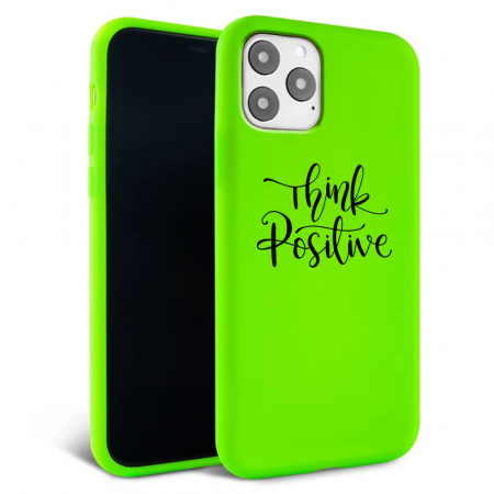 Husa iPhone 11 - Silicon Matte - Think Positive 1 [2]
