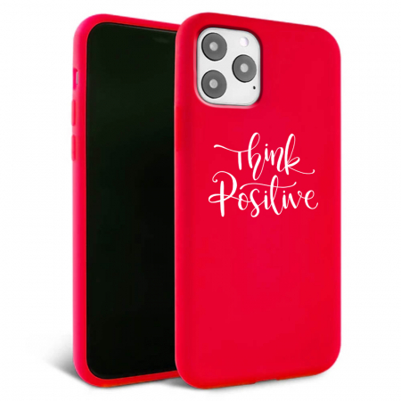 Husa iPhone 11 - Silicon Matte - Think Positive 2 [5]