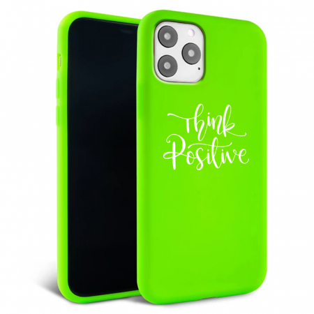 Husa iPhone 11 - Silicon Matte - Think Positive 2 [1]