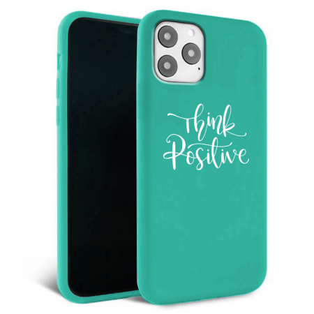 Husa iPhone 11 - Silicon Matte - Think Positive 2 [3]
