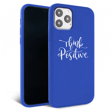 Husa iPhone 11 - Silicon Matte - Think Positive 2 [2]
