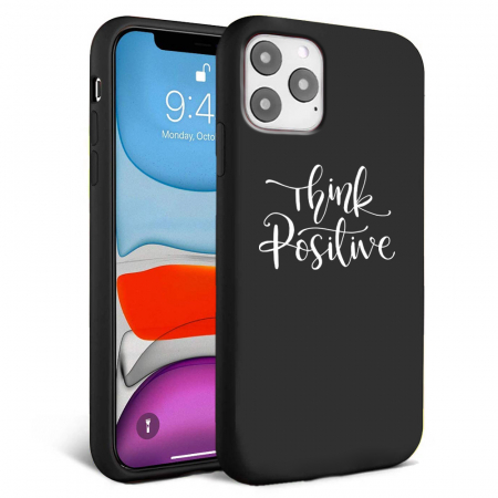Husa iPhone 11 - Silicon Matte - Think Positive 2 [0]