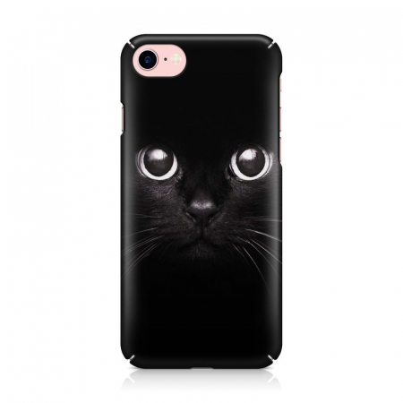 Husa iPhone 6 Custom Hard Case Black Cat3