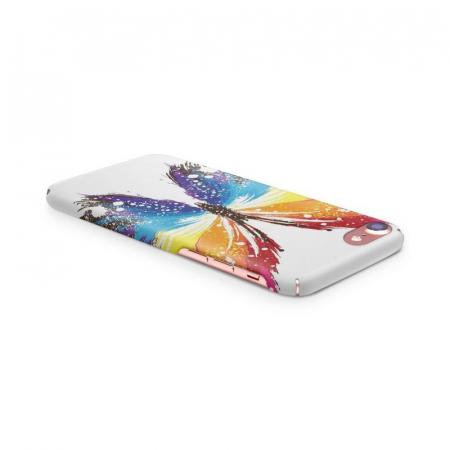 Husa iPhone 6 Custom Hard Case Blue Butterfly2