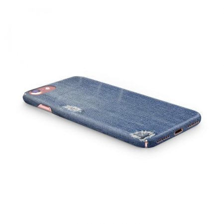 Husa iPhone 6 Custom Hard Case Blue Jeans2
