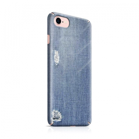 Husa iPhone 6 Custom Hard Case Blue Jeans0