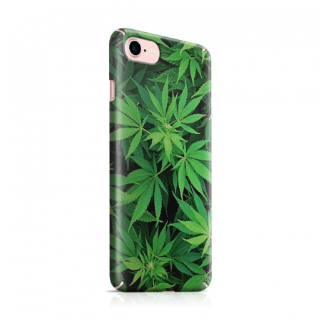 Husa iPhone 6 Custom Hard Case Green Leaf0