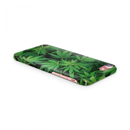Husa iPhone 6 Custom Hard Case Green Leaf1