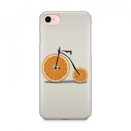 Husa iPhone 6 Custom Hard Case Orange Bicycle1