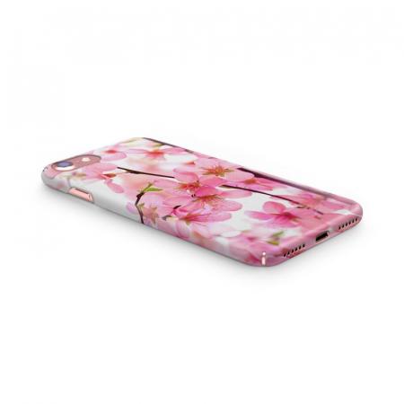 Husa iPhone 6 Custom Hard Case Pink Flowers3